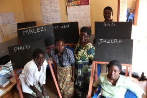 Blackboards for adult literacy training
