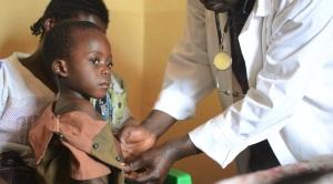 Child At Katawa Community Clinic